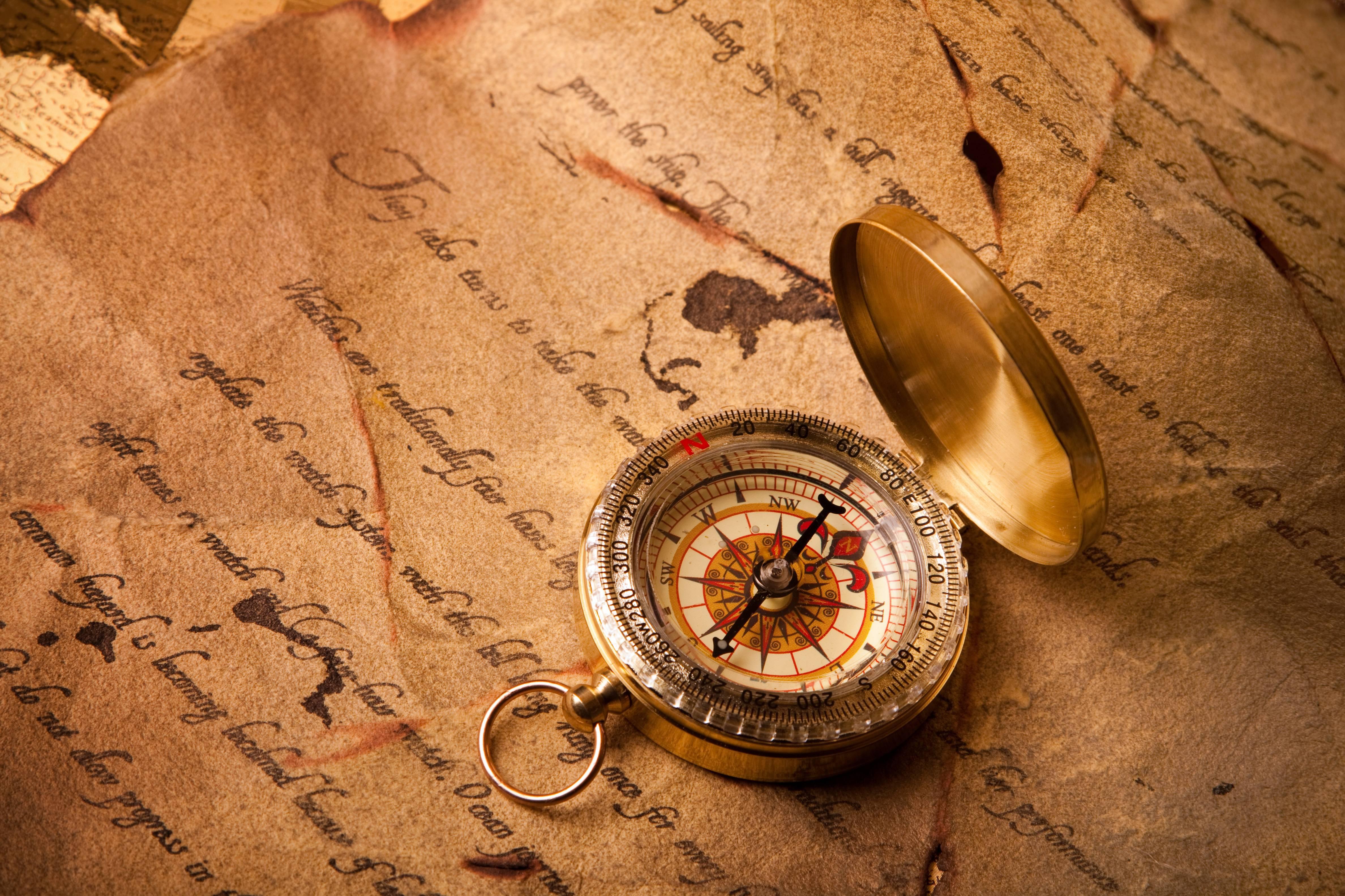 Обои светящимися, темноте, компас, Compass, механизм. Разное foto 9