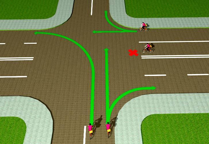 Где нельзя ездить на велосипеде