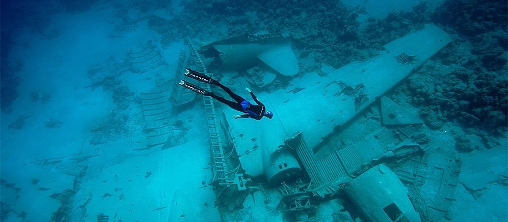 Максимальная глубина погружения человека с аквалангом