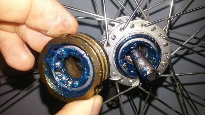 Как разобрать заднюю втулку на велосипеде