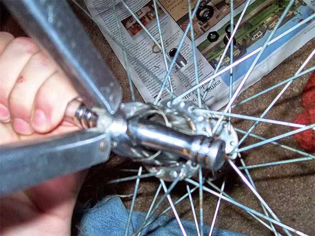 Ремонт велосипедной втулки