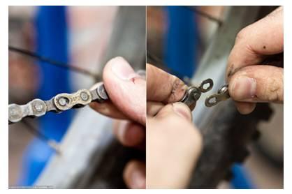 Цепь с замком – демонтируется быстро, закрепляется надежно
