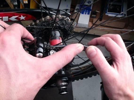 Процедура выпрямления тормозного диска