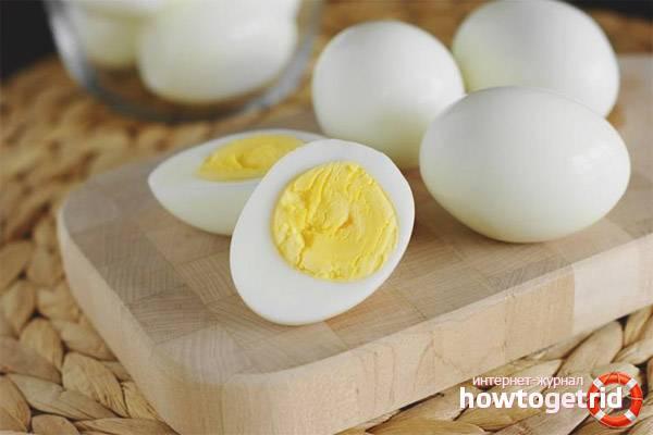 Можно ли после тренировки есть яйца