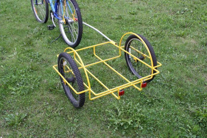 Прицеп для велосипеда для ребенка