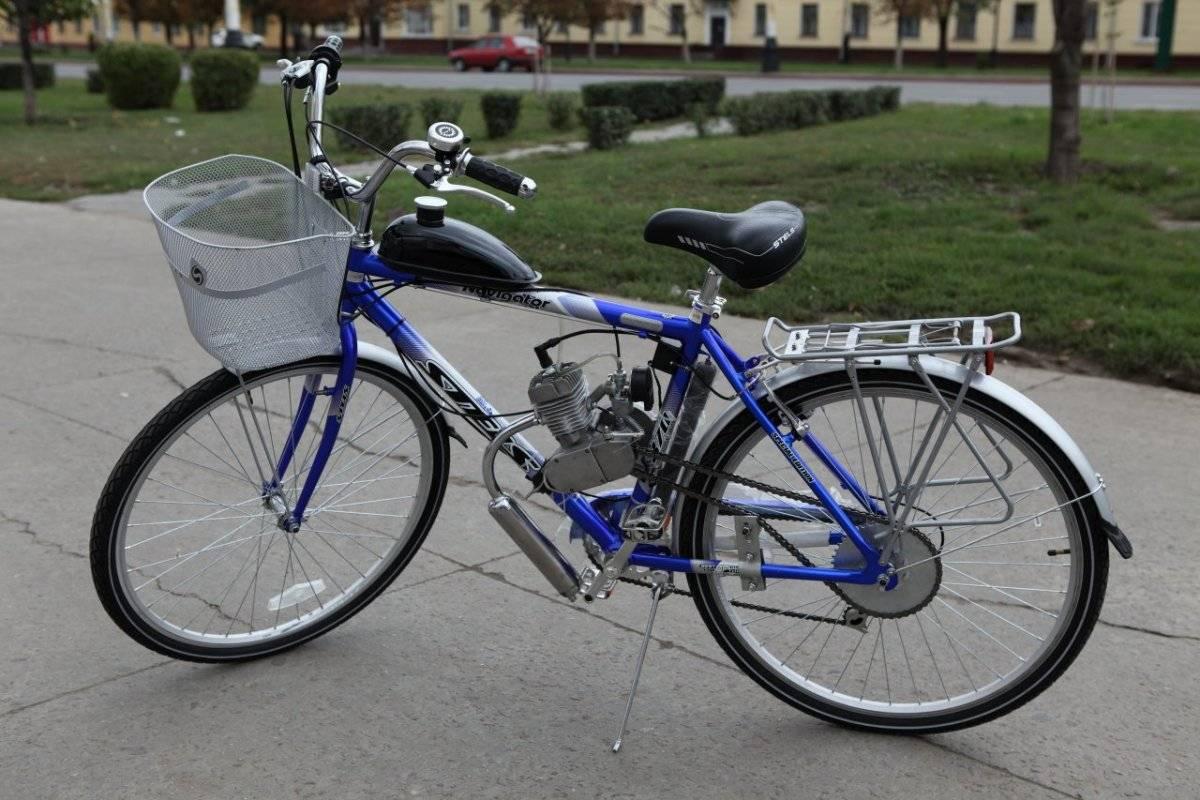 Бензиновый мотор на велосипед