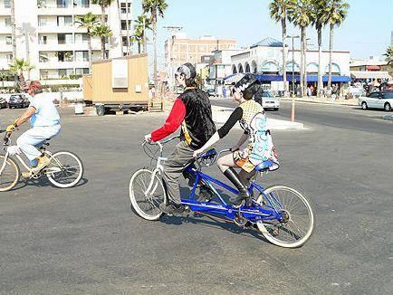как называется двухместный велосипед