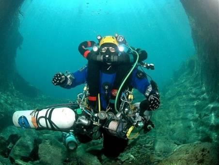 Рекорд погружения с аквалангом