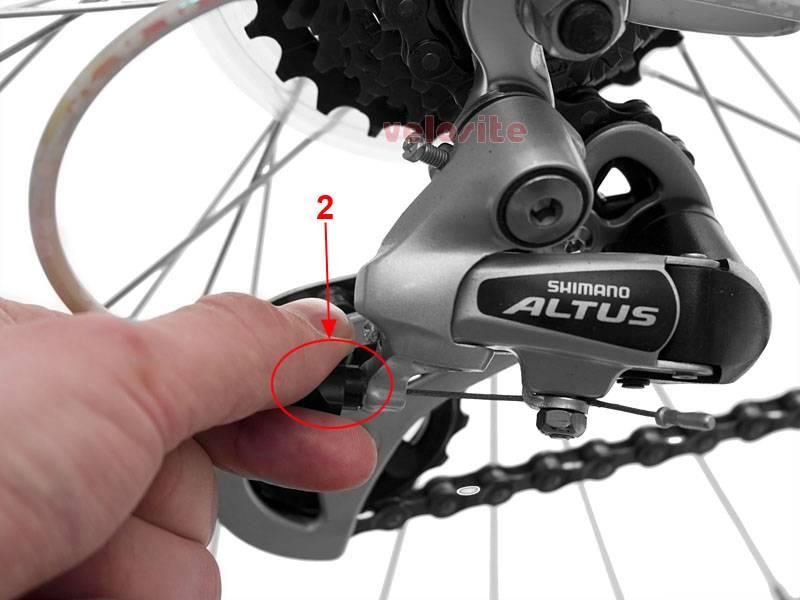 Как регулировать задний переключатель на велосипеде
