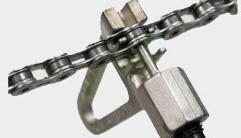 Как распутать цепь на велосипеде
