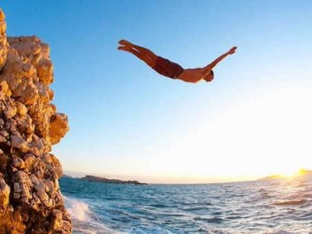 Максимальная высота прыжка в воду