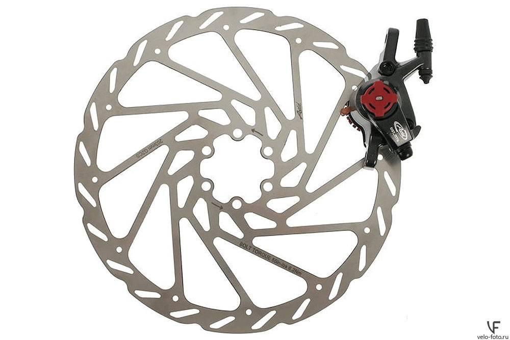 Клещевые тормоза для велосипеда