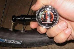 Какое давление должно быть в камере велосипеда