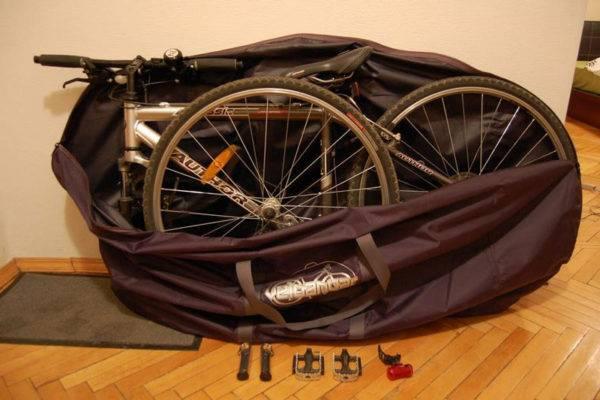 Как провезти велосипед в электричке