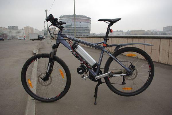 Установка электромотора на велосипед