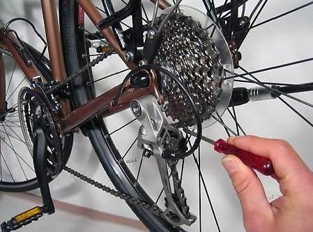 как на велосипеде переключать скорости фото
