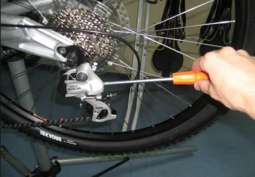 как настроить скорости на велосипеде фото