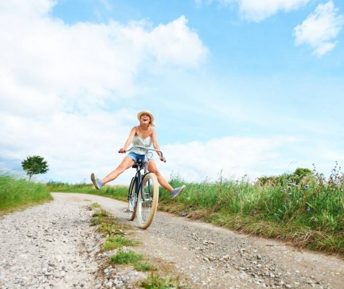Польза от езды на велосипеде для женщин