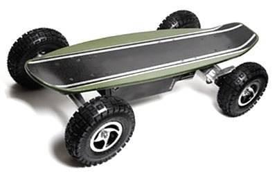 Скейтборд с мотором