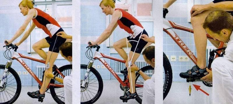 Измерение физических параметров велосипедиста