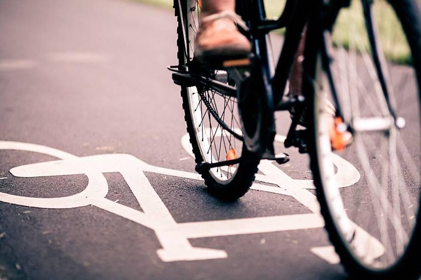 Какая средняя скорость велосипедиста
