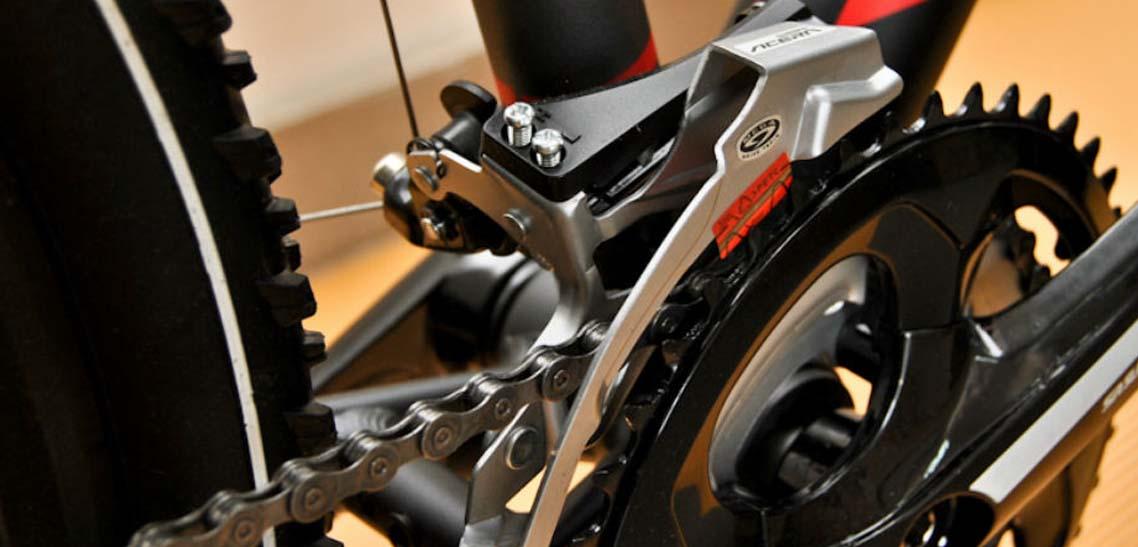 Настройка переднего и заднего переключателя на велосипеде