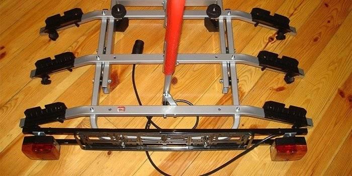 Крепеж для велосипеда на багажник