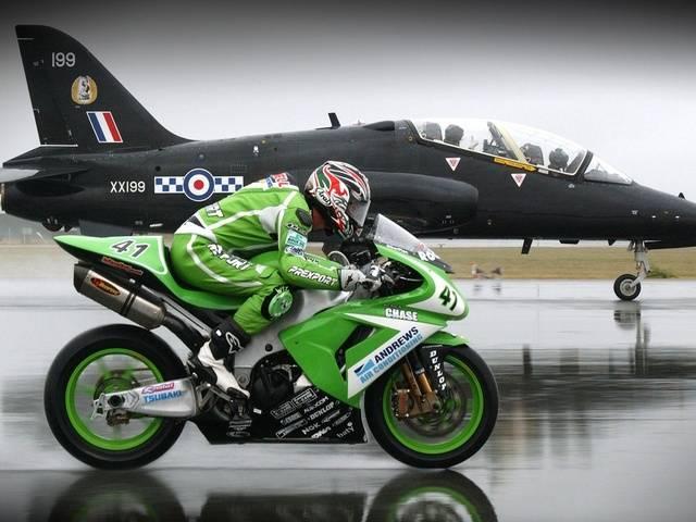 Перегазовка на мотоцикле