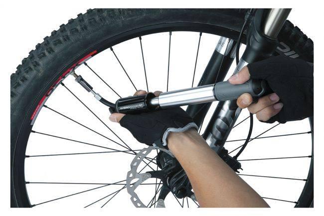 До скольки накачивать колеса велосипеда