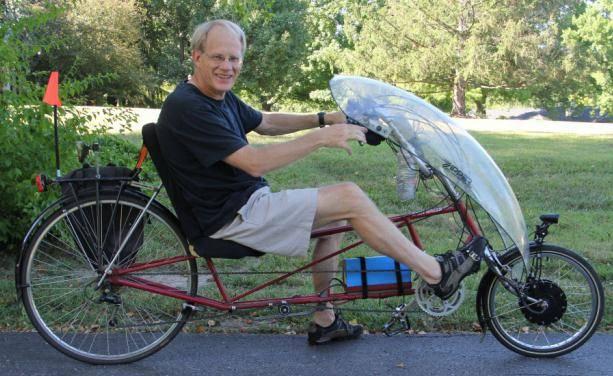 Велоколесо электрическое