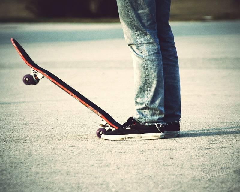 Как катаца на скейте