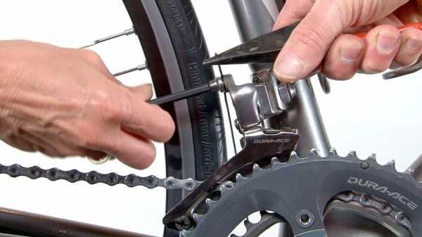 Как поменять передний переключатель скоростей на велосипеде
