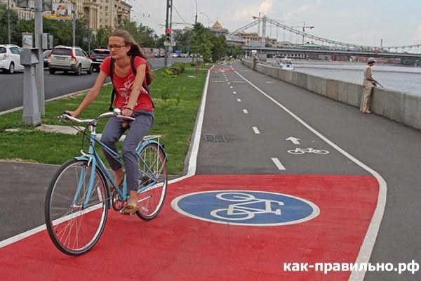 Ширина велодорожки