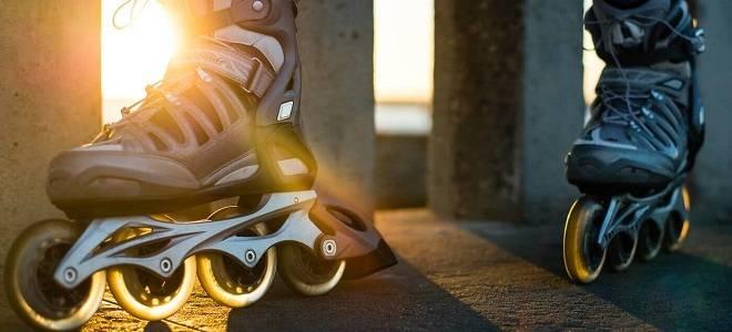 Как тормозить на роликовых коньках
