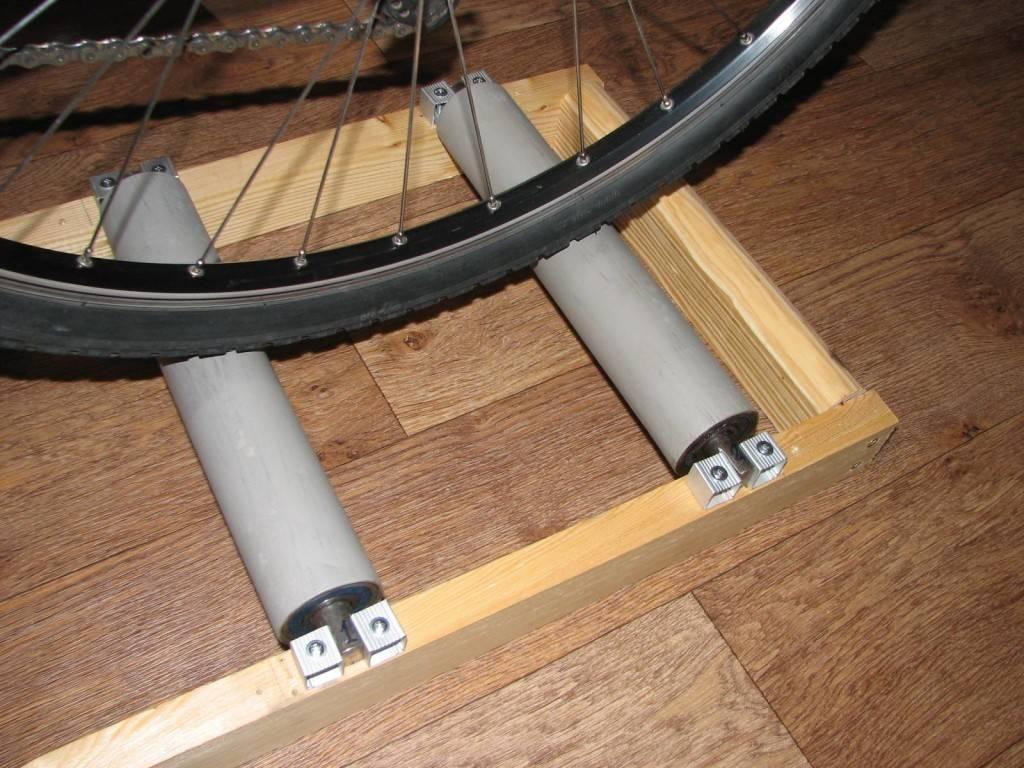 Из велосипеда велотренажер
