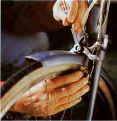 Регулировка ручного тормоза на велосипеде
