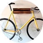 Крепеж для велосипеда на стену