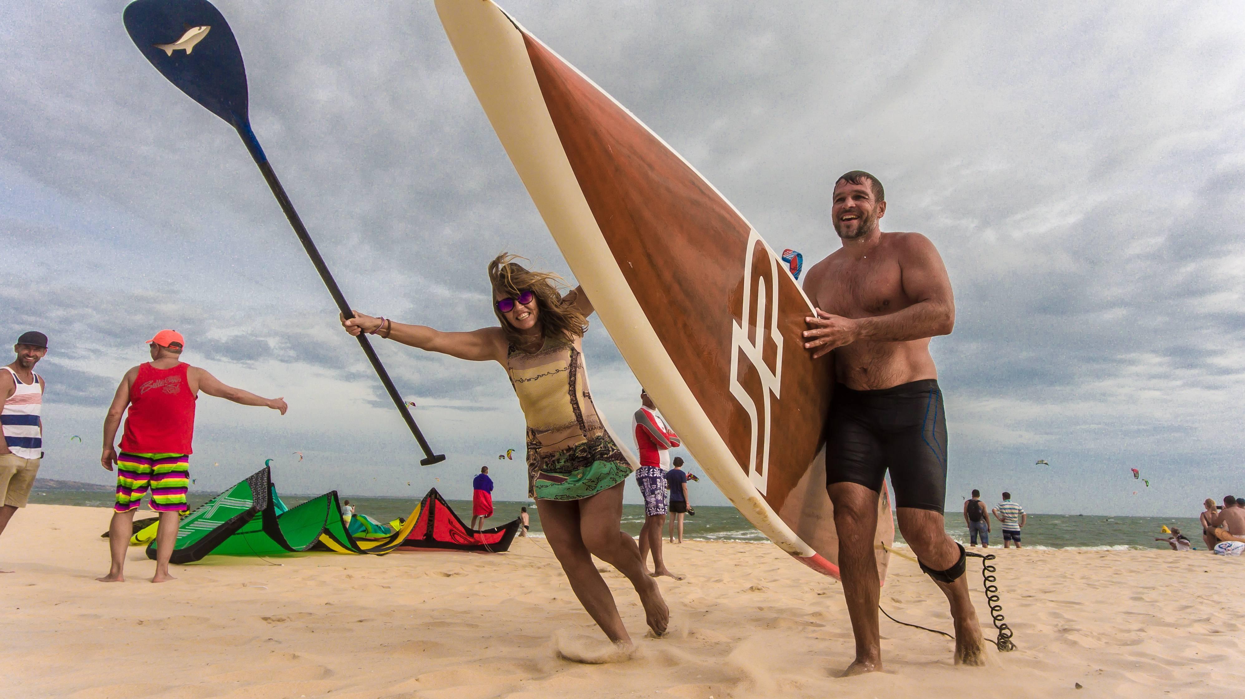 Надувная доска для sup серфинга