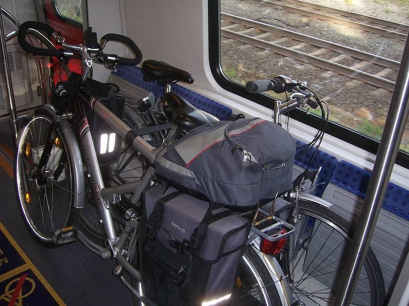 Правила провоза велосипеда в поезде дальнего следования