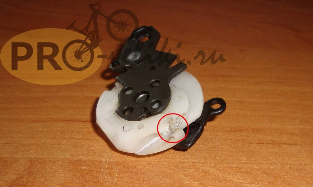 Переключатель скоростей на велосипеде на руле