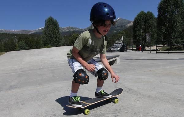 Маленький скейт