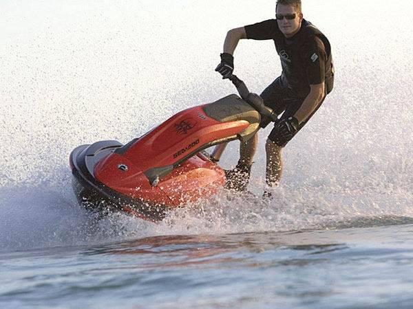 Скорость водного мотоцикла