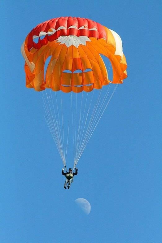 Прыжок с парашютом 4000 метров