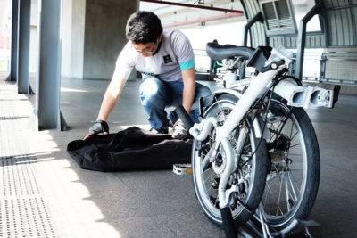 Как проехать в метро с велосипедом