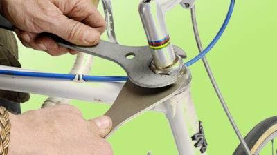 Регулировка руля на велосипеде,