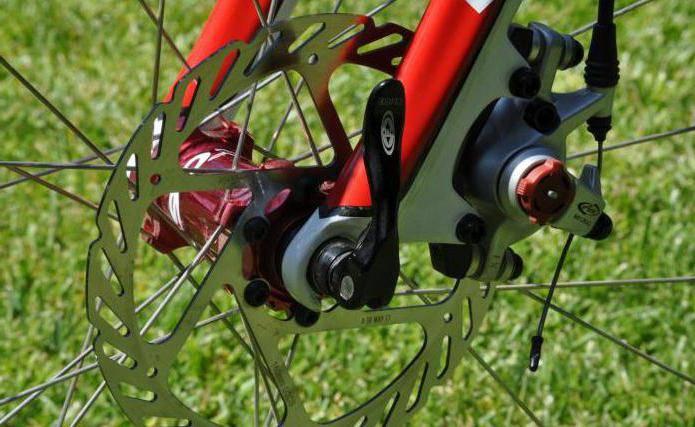 Велосипедные тормоза дисковые