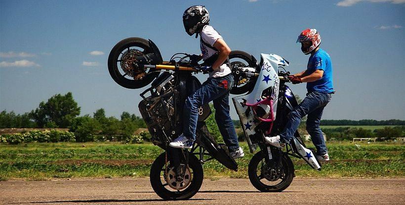Мотоциклы для трюков