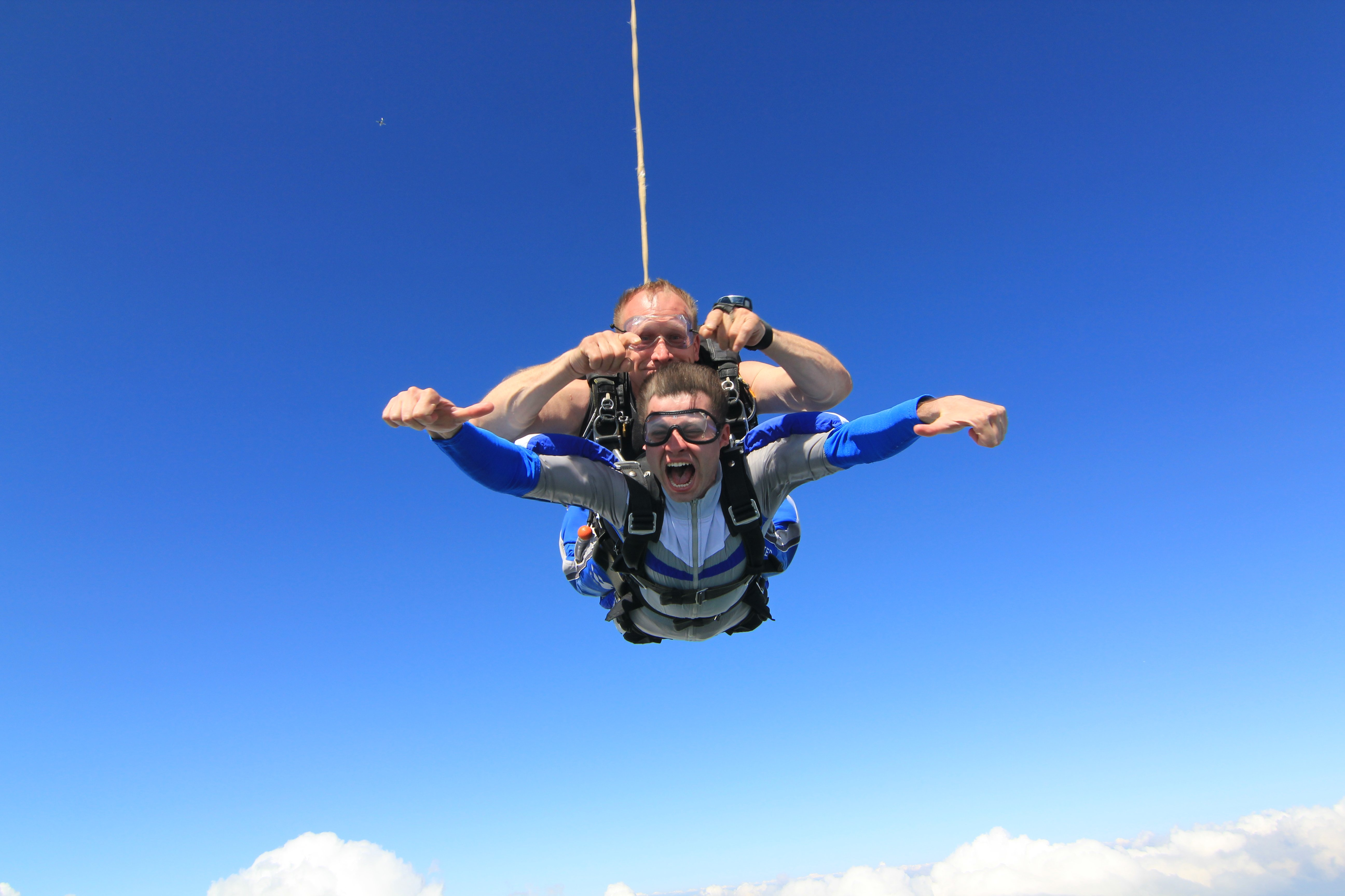 Прыжок с парашютом противопоказания