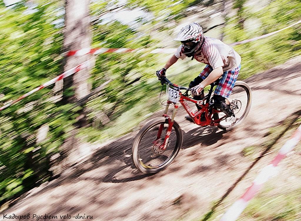 Сколько км в час едет велосипед