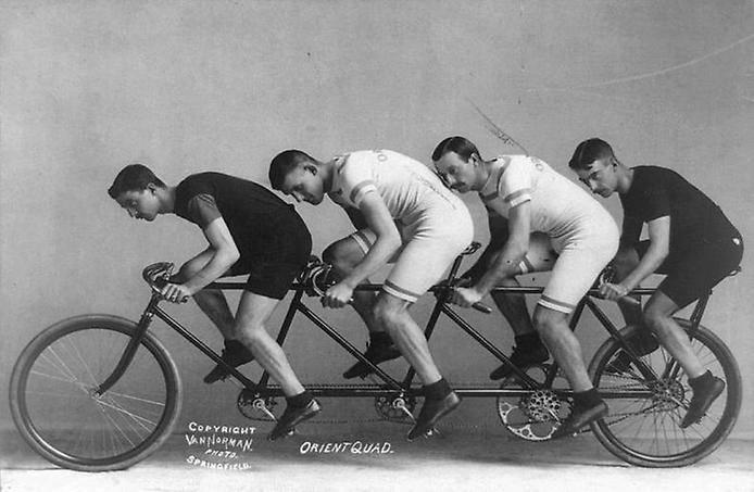 Кто создал велосипед